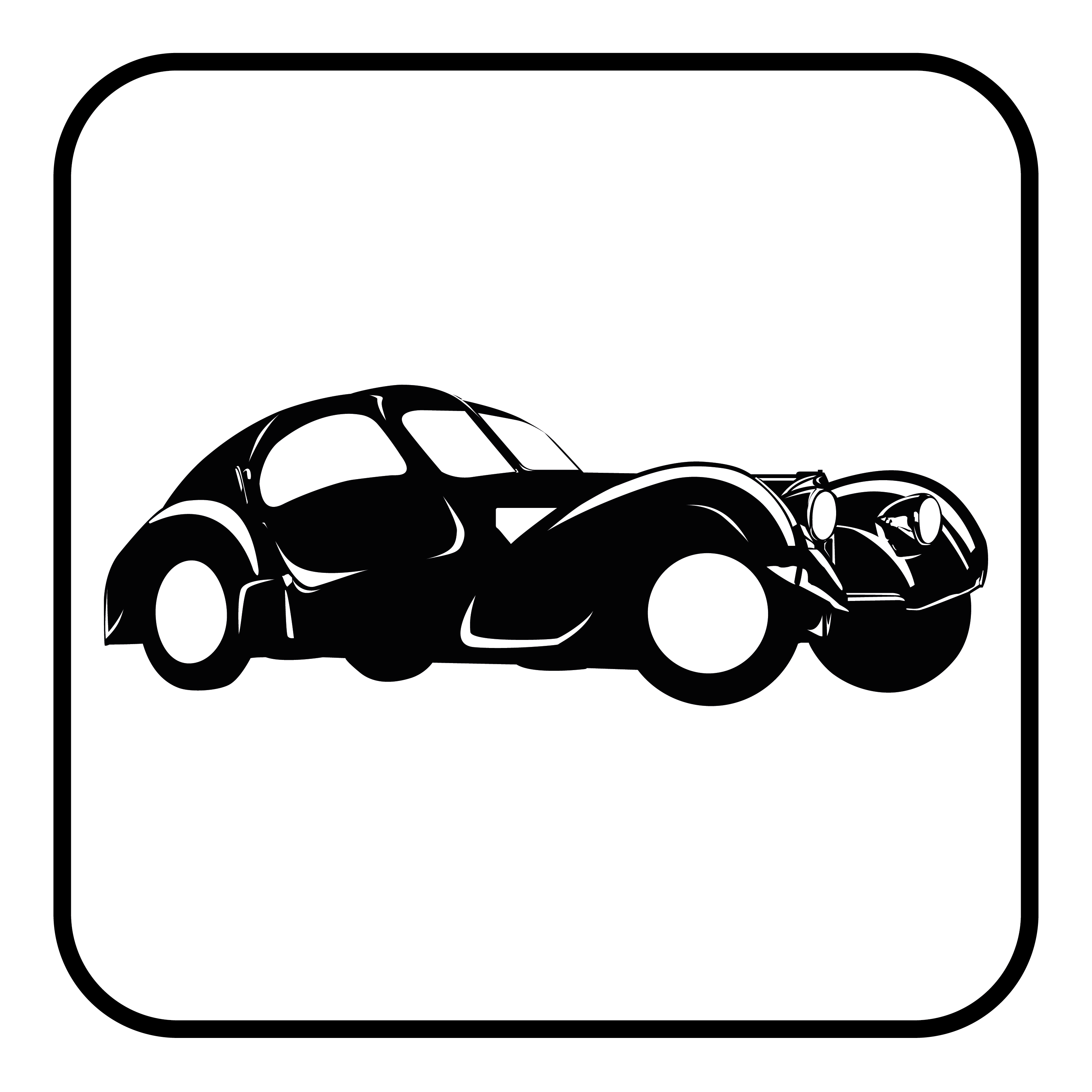 Classic cars icon